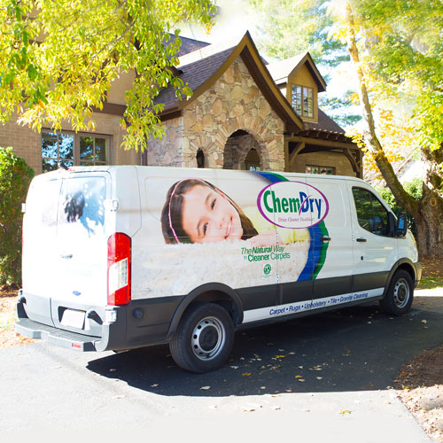Chem-Dry Clearwater/Largo Technician Van